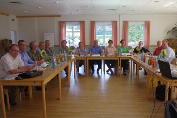 Leader-Region - LAG-Mitglieder beim Strategie-Workshop am 04.09.2018
